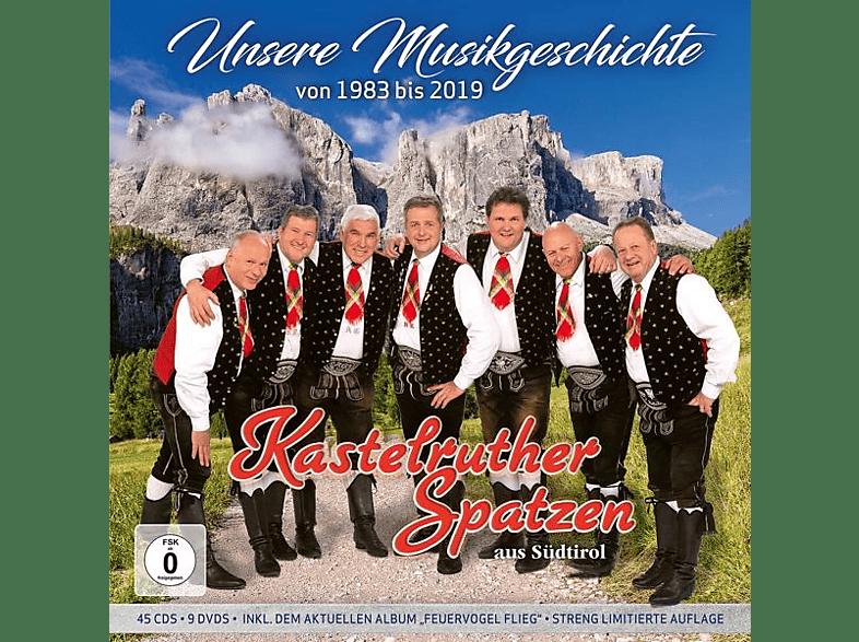 Kastelruther Spatzen - Unsere Musikgeschichte 1983-2019 [CD + DVD Video]