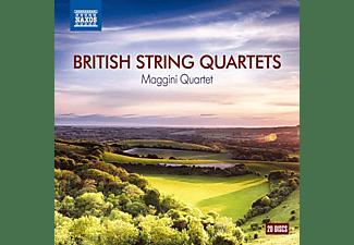 Maggini Quartet - British String Quartets  - (CD)