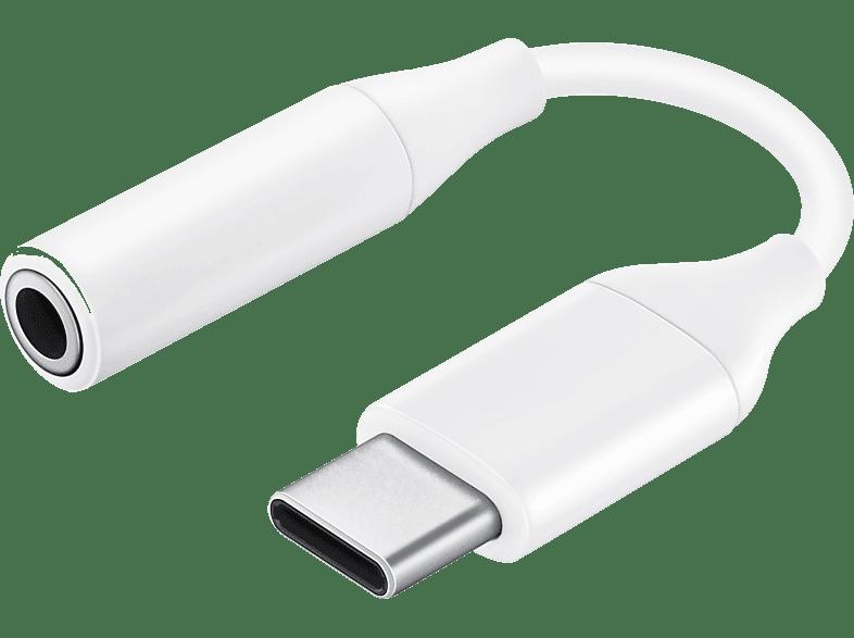 USB-C auf 3.5mm Buchse Audiokabel weiß Audio Stecker für Samsung usbc Klinke