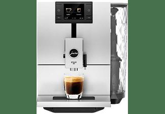 Cafetera superautomática - Jura ENA 8 Nordic White, 15 bar, 1.1L, 1450W, Blanco e inox