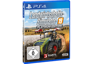 Landwirtschafts-Simulator 19: Platinum Edition - [PlayStation 4]