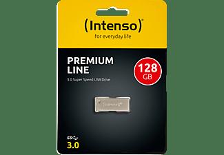 INTENSO Premium Line USB-Stick, 128 GB, Silber