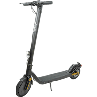 CITY BLITZ CB075SZ TRAVELLER E-Scooter (8,5 Zoll, Aluminium/Schwarz)