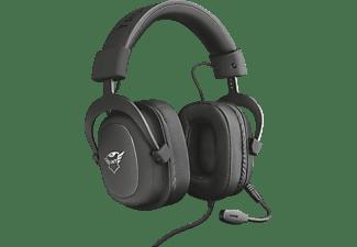 TRUST Gaming GXT 414 Zamak Premium, Over-ear Gaming Headset Schwarz