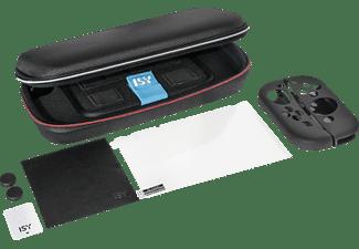 ISY Nintendo Switch Starter Kit Konsolen-Zubehör-Set, Schwarz