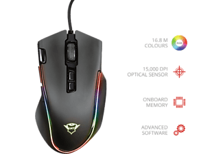 TRUST Souris gamer GXT188 Laban (21789)