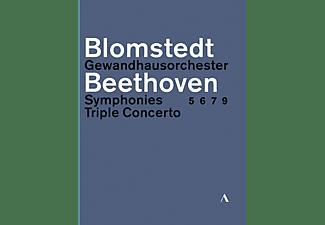VARIOUS, Gewandhausorchester Leipzig - Beethoven Sinfonien 5,6,7,9 & Tripelkonzert  - (Blu-ray)