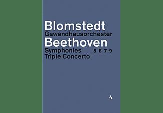 VARIOUS, Gewandhausorchester Leipzig - Beethoven Sinfonien 5,6,7,9 & Tripelkonzert  - (DVD)