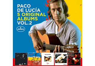 Paco de Lucía - 5 Original Albums Vol.2  - (CD)