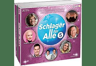 VARIOUS - Schlager für alle 5  - (CD)