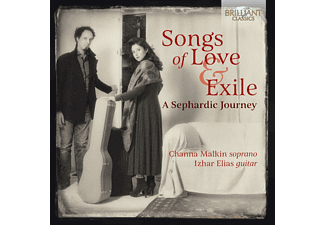Channa Malkin, Izhar Elias - Songs Of Love & Exile,A Sepherdic Journey  - (CD)