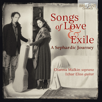 Channa Malkin, Izhar Elias - Songs Of Love & Exile,A Sepherdic Journey [CD]