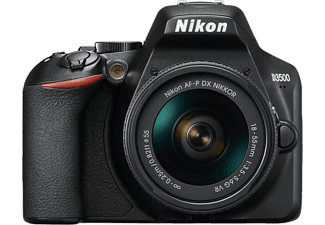 NIKON Reflex camera D3500 + 18-55 mm DX VR (VBA550K001)