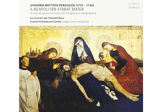 Le Concert de l'Hostel Dieu - A Neapolitan Stabat Mater  - (CD)