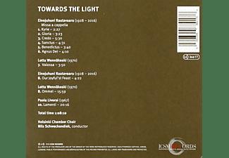 Nils/helsinki Chamber Choir Schweckendiek - Towards the Light  - (CD)