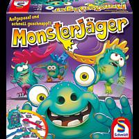 SCHMIDT SPIELE (UE) Monsterjäger Kinderspiel, Mehrfarbig