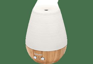BEURER 606.26 LA 40 Aroma Diffuser Weiß/Braun (12 Watt, Raumgröße: 20 m²)