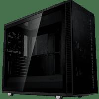 FRACTAL DESIGN Define S2 Vision Blackout Tower-Gehäuse, Schwarz
