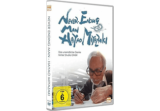 Never Ending Man - Hayao Miyazaki DVD