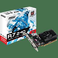 MSI Radeon R7 240 2GD3 64B LP (V809-2847R) (AMD, Grafikkarte)