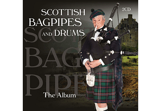 Scottish Bagpipes And Drums - The Album  - (CD)