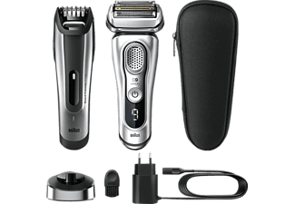 BRAUN SERIES 9 - 9350S + BT5090 Rasierer Silber (SyncroSonic™ Technologie)