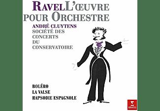Societe des Concerts Du Conservatoire, Cluytens Andre - Bolero,Rapsodie espagnole,La Valse  - (Vinyl)