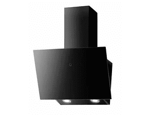 Campana - Mepamsa Cuadro 90, Aspiración perimetral, Cristal Negro