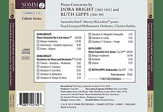 Samantha Ward, Murray McLachlan, Charles Peebles, Royal Liverpool Philharmonic Orchestra - Klavierkonzerte  - (CD)