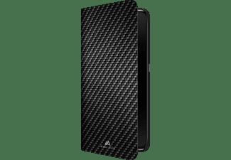 BLACK ROCK Flex Carbon, Bookcover, Samsung, Galaxy A80, Schwarz