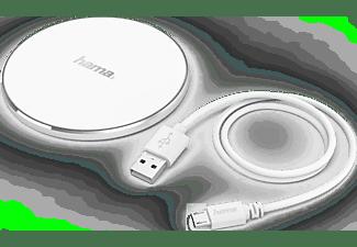 HAMA Kabelloses Ladegerät FC5 Alu, Weiß