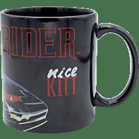 JOY TOY IT Knight Rider K.I.T.T. Tasse 1982 Pontiac Firebird Trans Am Tasse, Mehrfarbig