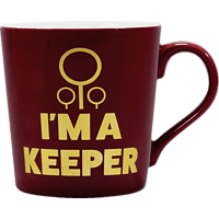 HALF MOON BAY Harry Potter Tasse Quidditch Keeper Tasse, Mehrfarbig