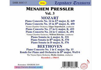 Pressler, Atzmon, Orchester Wiener Staatsoper - Legendary Treasures: Menahem Pressler Vol.3  - (CD)