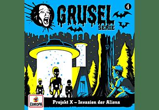 Gruselserie - 004/Projekt X-Invasion der Aliens  - (CD)