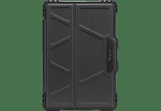 TARGUS Drehbare Hülle Tablethülle Bookcover für Samsung Polyurethan, Schwarz