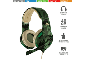 TRUST Casque gamer GXT 310C Jungle Camo (22207)