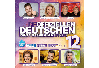 VARIOUS - Die offiziellen dt.Party & Schlager Charts Vol.12  - (CD)