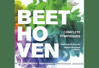 Peter Schreier, Theo Adam, Staatskapelle Dresden, Herbert Blomstedt, Helena Döse, Marga Schiml - Beethoven:Complete Symphonies (Quintessence)  - (CD)