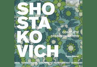 Rubio Quartet - Shostakovich:String Quartets (Quintessence)  - (CD)