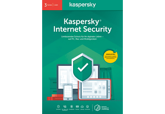 Kaspersky Internet Security 3 Geräte (Code in a Box) (FFP) - [PC]