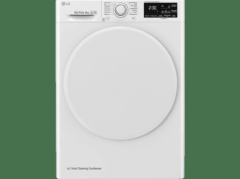 LG RT8DIHP Wärmepumpentrockner (8 kg, A+++)