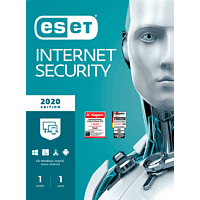 ESET Internet Security 2020 Edition 1 User (Code in a Box)