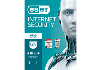 ESET Internet Security 2020 Edition 3 User (Code in a Box) - [PC]