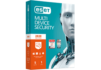 ESET Multi-Device Security 2020 Edition 5 User (Code in a Box) - [PC]