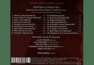 Exaudi-(vocal Ensemble) - MADRIGALI  - (CD)