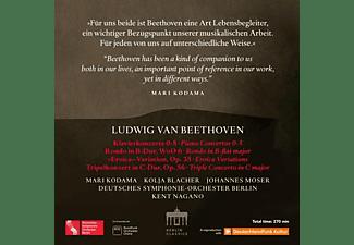 Mari (klavier) Kodama - Beethoven:The Piano Concerts  - (CD)