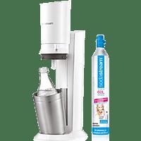 SODASTREAM Wassersprudler 2.0 Crystal Weiß