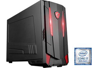 MSI Nightblade MI3, Gaming PC mit Core™ i7 Prozessor, 16 GB RAM, 256 GB SSD, 1 TB HDD, GeForce® GTX 1070, 8 GB
