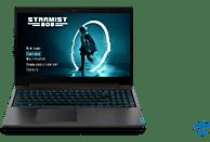 LENOVO IdeaPad L340 Gaming, Gaming Notebook mit 15.6 Zoll Display, Core™ i7 Prozessor, 8 GB RAM, 128 GB SSD, 1 TB HDD, GeForce GTX 1650, Schwarz